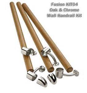 banister kits fusion wall handrail kit stair banister rail kit
