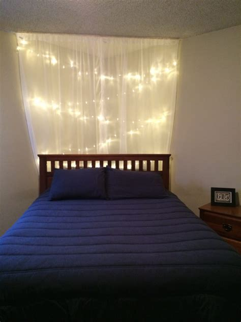 How To Hang String Lights In Bedroom Awesome String Lights For Bedroom For Dreamy Sleep Atzine
