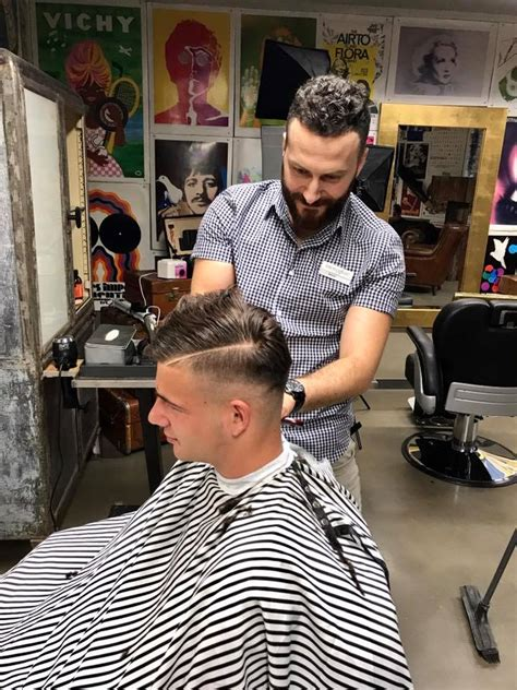 new barber shop opens in town patch man about town barbers