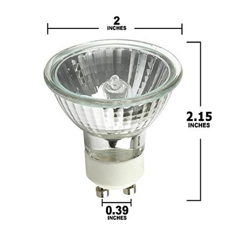Lu Sorot Halogen 50 Watt pack of 6 50 watt gu10 halogen bulb 120 volt 50w gu10 halogen light bulb in the uae see prices