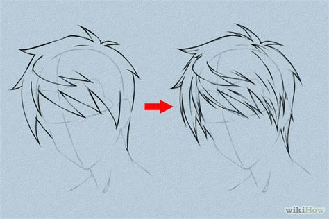 tutorial menggambar oc 6 ways to draw anime hair wikihow