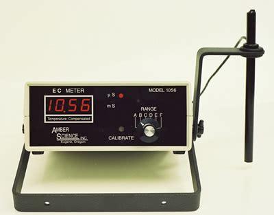 Digital Conductivity Meter science model 1056 digital conductivity meter