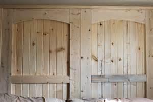 Building A Barn Door How To Build A Rustic Barn Door Headboard World Garden Farms