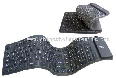 Keyboard Laptop Fleksibel fleksibel vanntett tastatur i st 248 rrelse fleksibel