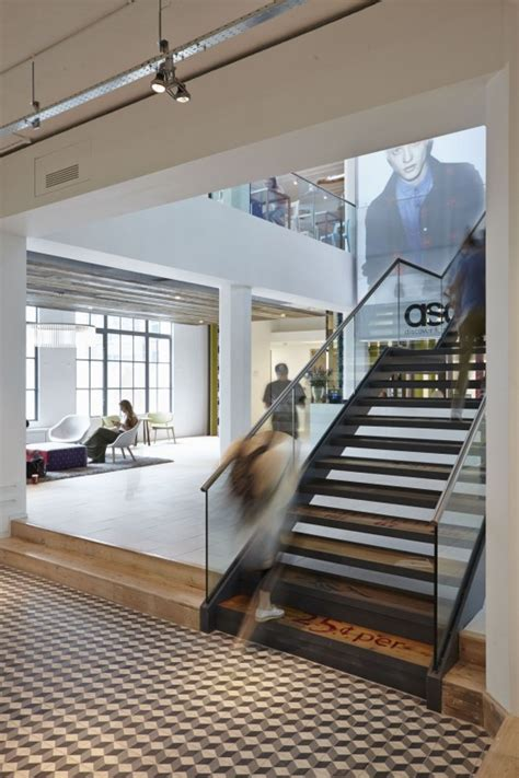 office stairs design the asos hq little bennet