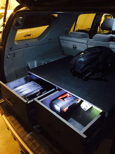 Cargo Drawers For Suv by Best 25 Car Luggage Carrier Ideas On