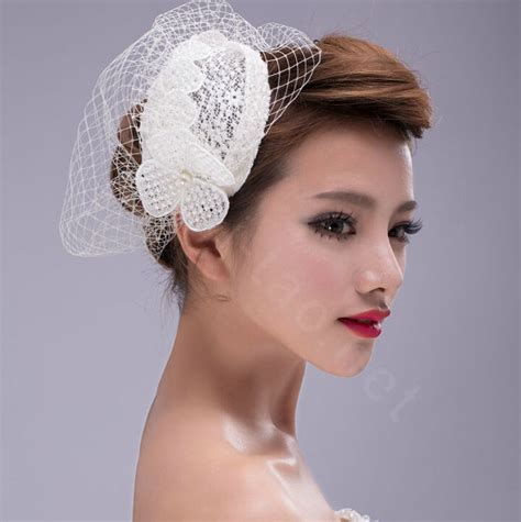 Wedding Hair Accessories Direct by Buy Wholesale Pearl Lace Gauze Bridal Fascinator