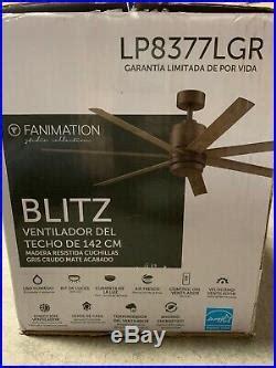 fanimation blitz   indooroutdoor ceiling fan light