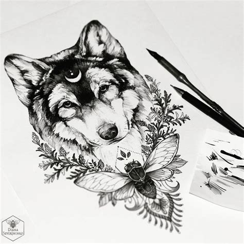 Komik Walking With Papa By Yui Shin 25 melhores ideias de tatuagens de lobo no