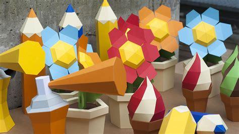 papercraft kits  set decoration   kids tv program
