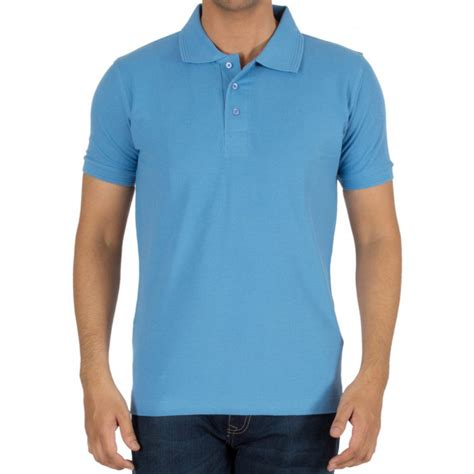 Polo Simple List buy sky blue plain blank collar polo t shirts for india best reviews prices xtees