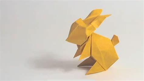 tutorial origami coniglio come fare conigli e pulcini origami per pasqua