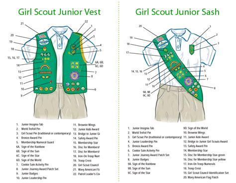 scout junior sash diagram junior sash vest related keywords junior sash vest