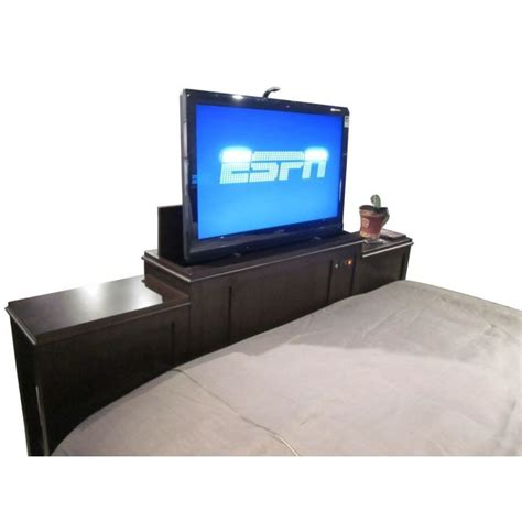 bed with tv lift 11 best images about tyler bed tv lift on pinterest it