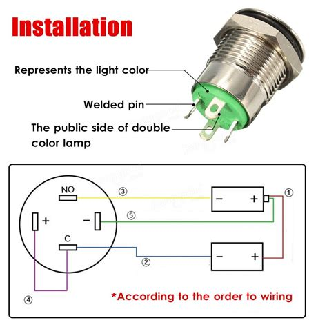 push on led switch wiring diagram wiring diagram