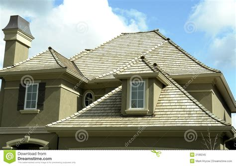 roofing a house new home house roof stock image image of residence