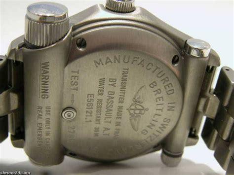 Breitling Emergency Titanium SuperQuartz