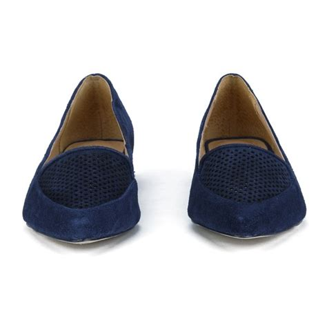 Connexion Flat Shoes Navy ravel s anaconda suede pointed flat shoes navy