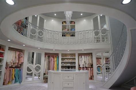 walk  closet  spiral staircase contemporary closet