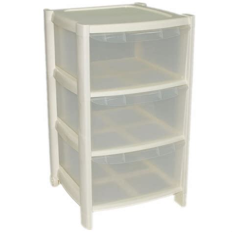 3 Drawer Wide Plastic Storage Unit by 3 Drawer Plastic Large Tower Office Storage Drawers Unit