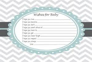 Baby shower advice card wishes for the baby by rockstarpress