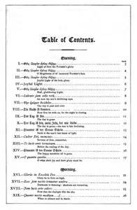 best table of contents template table of contents template word playbestonlinegames