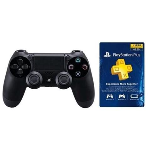 Promo Stick Ps3 Wireless Op playstation plus 12 month card sony ps4 controller for