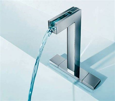 faucet changes color with the water temperature neatorama