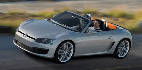 volkswagen sports car models vw considering bluesport efficient performance range