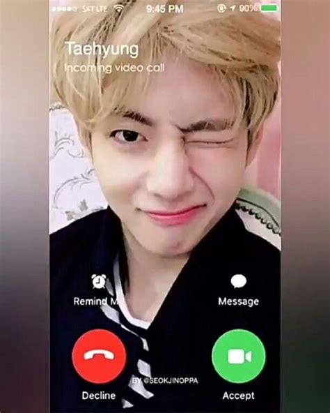 kim taehyung video call instagram post by v 뷔 kim taehyung bts feb 26 2017