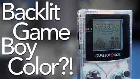gameboy color backlight boy color backlight kit review