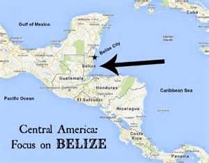Belize On World Map by Pin Detailed Belize Map Showing Districts On Pinterest