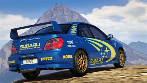 subaru rally racing subaru impreza wrx sti 2004 world rally team livery