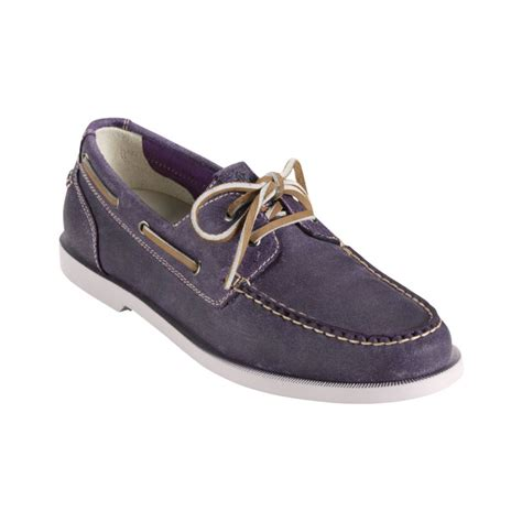 cole haan boat shoes cole haan air yacht boat shoes in gray for men milberry