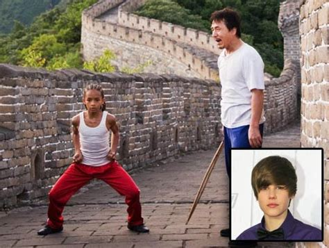 theme songs from karate kid bieber smith combine for karate kid track ny daily news