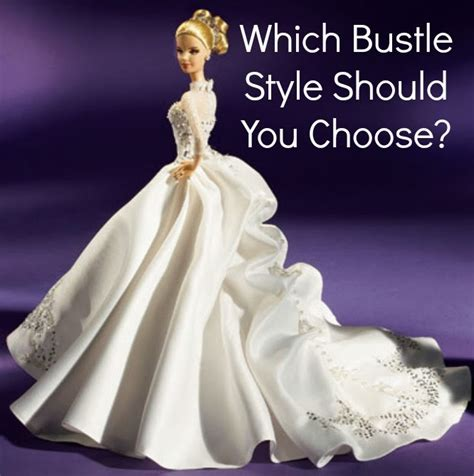 10 Dresses You Should Choose by Which Bustle Style Should You Choose The White Room