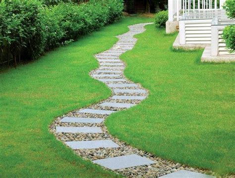 backyard walkway ideas 25 yard landscaping ideas curvy garden path designs to