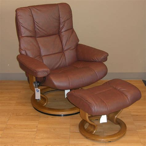 stressless leather chair and ottoman stressless paloma cognac 09441 leather by ekornes