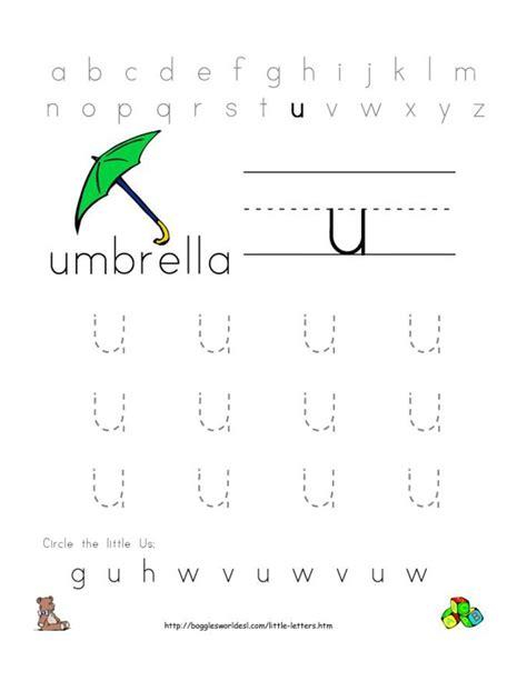 Letter U Worksheets by 19 Best Images About Letter U Worksheets On
