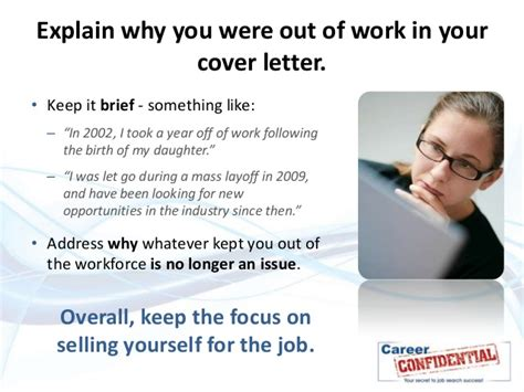 Explanation Letter For Gap Of Employment How To Explain A Gap In Your Work History