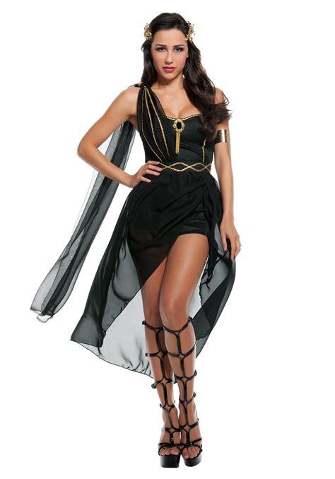womens dark goddess costume