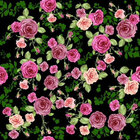 download pattern rose creative rose pattern design graphics vector 02 vector