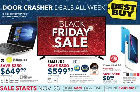 best buy black friday 2018 canada deals flyer reveals what s on sale list iphone in canada