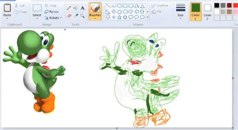 Drawings 6 Pro by How To Draw Yoshi Like A Pro With Paint