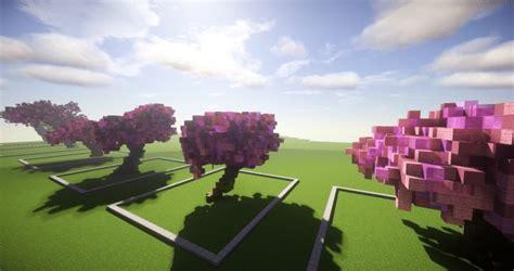 cherry tree minecraft cherry trees bundle minecraft building inc