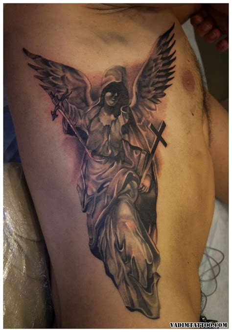 65 angel tattoos guardian and fallen angel tattoo designs