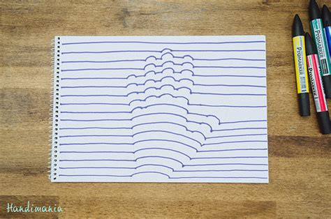 How To Make Optical Illusions On Paper - how to draw a 3d optical illusion of your