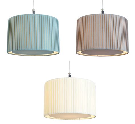 Fabric Pendant Light Shades Pleated Fabric Drum Lshade Diffuser Ceiling Light L