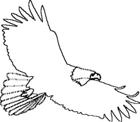 soaring eagle coloring page eagle outline