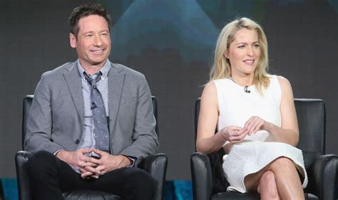 Duchovny Back On Tv by Gillian Has No Idea If The X Files Will Return